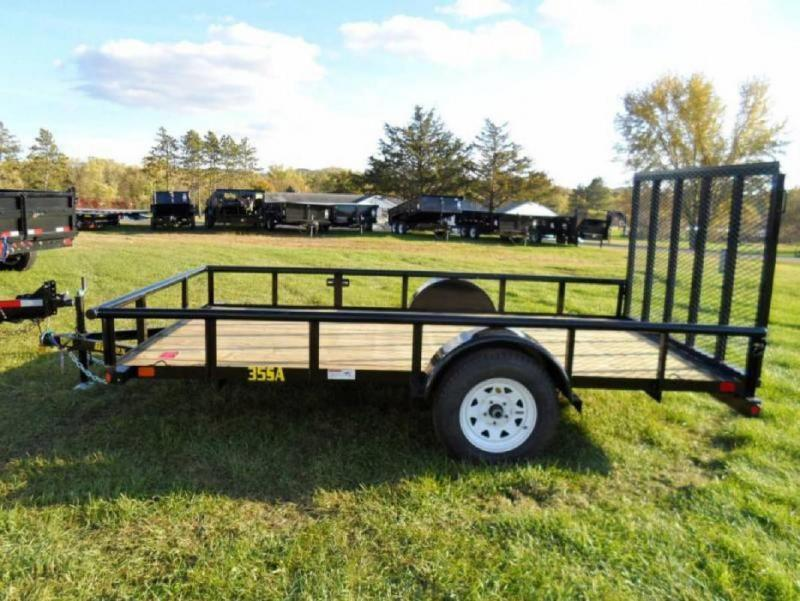 Big Tex 77x12' Utility Trailer