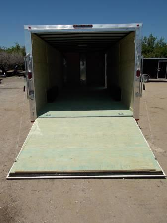 8.5x20x6'6 Arising Enclosed Trailer