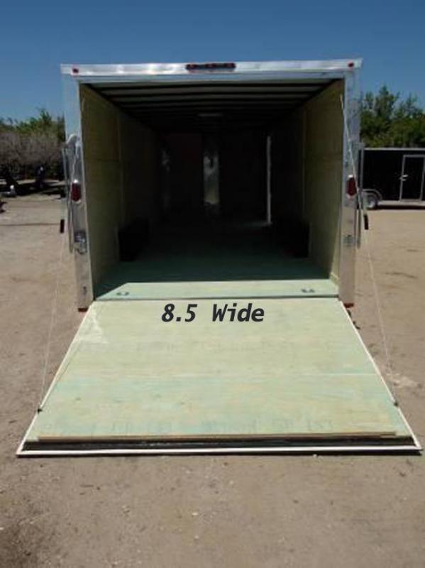 8.5x20x6'6 Arising Enclosed Trailer Cargo