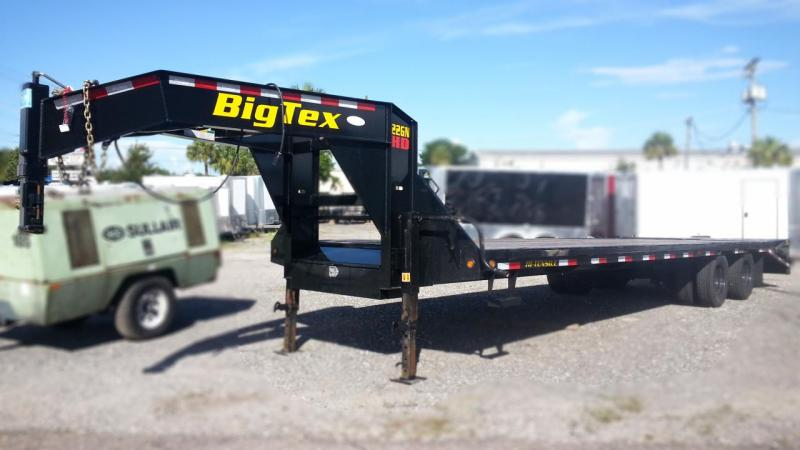 Big Tex Trailers 22gn-25+5 Gooseneck Tandem Dual Equipment Hauler Trailer 30' Gooseneck Trailer