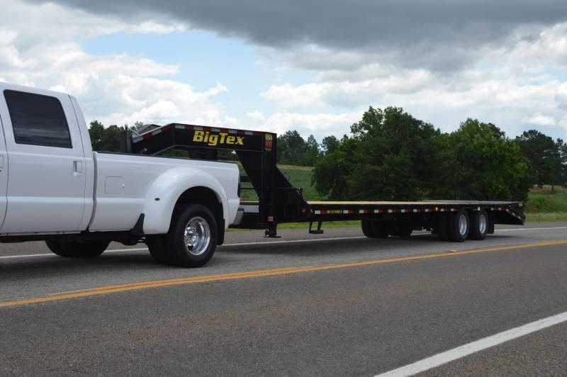 22GN Big Tex Heavy Duty Tandem Dual Axle Gooseneck Trailer