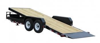 22ft Flatbed w/Tilting Deck