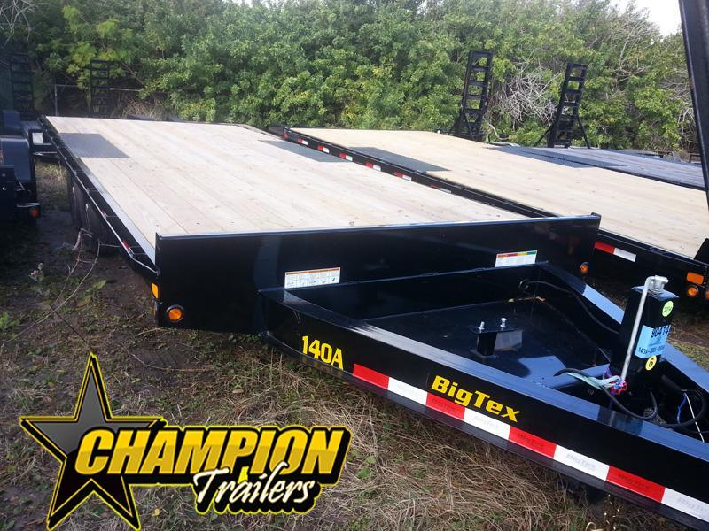 Big Tex 8.5 x 20' Deckover Equipment Trailer with Slide in Ramps