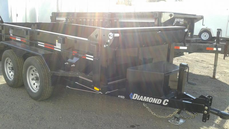 2019 Diamond C Trailers 41ED Dump Trailer