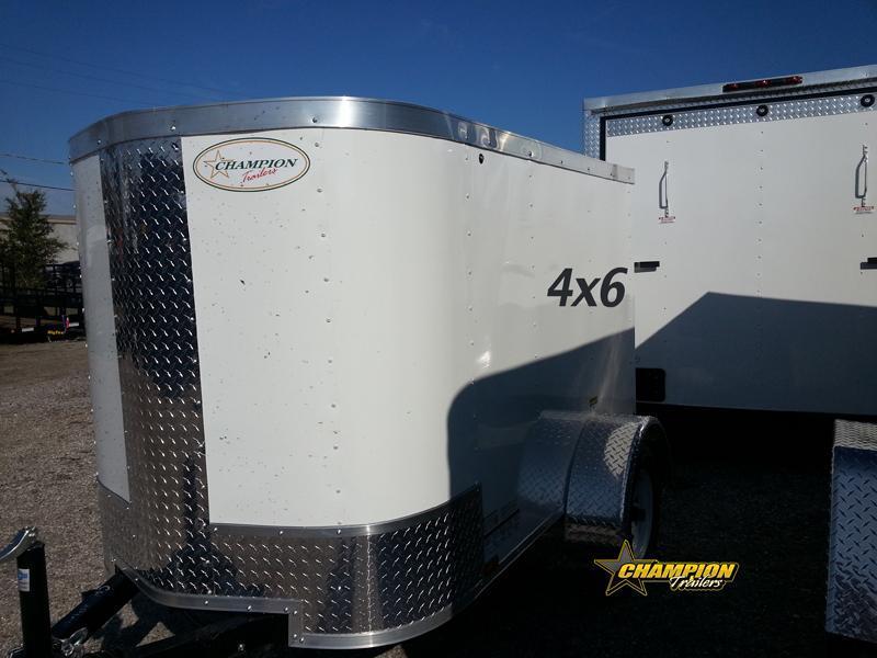 Arising 4x6 Enclosed Cargo Trailer