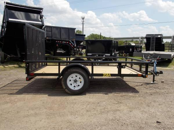 35SA Single Axle Utility 12ft
