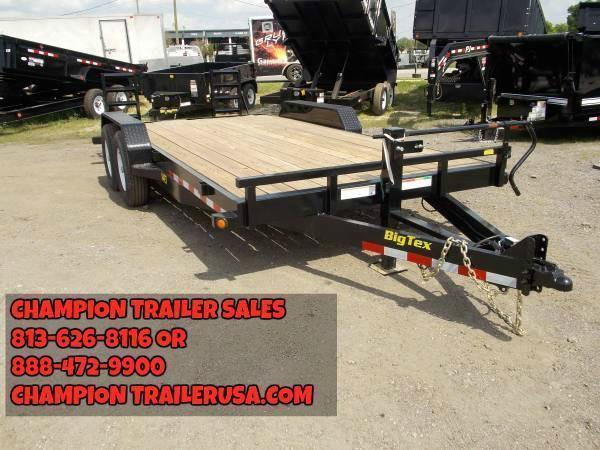 Big tex 14ET -18Ft TA Equipment Trailer