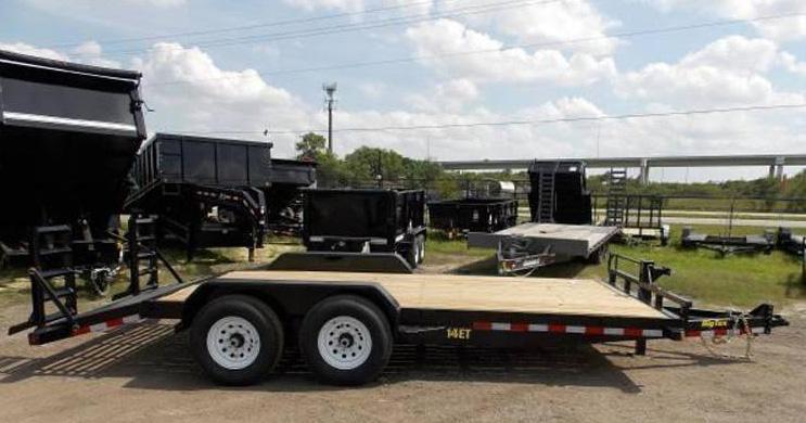 Big tex 14ET -18Ft TA Equipment Trailer