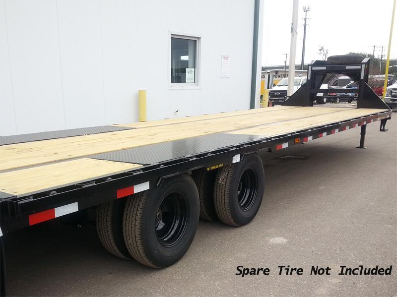 Big Tex Trailers 22gn-25+5 Gooseneck Tandem Dual Equipment Hauler Trailer 25' Gooseneck Trailer