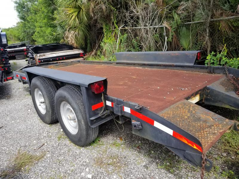 1984 Belshe wb-2 Equipment Trailer Used As IS