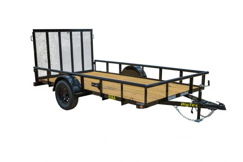 30SA Big Tex Utility Trailer 8'