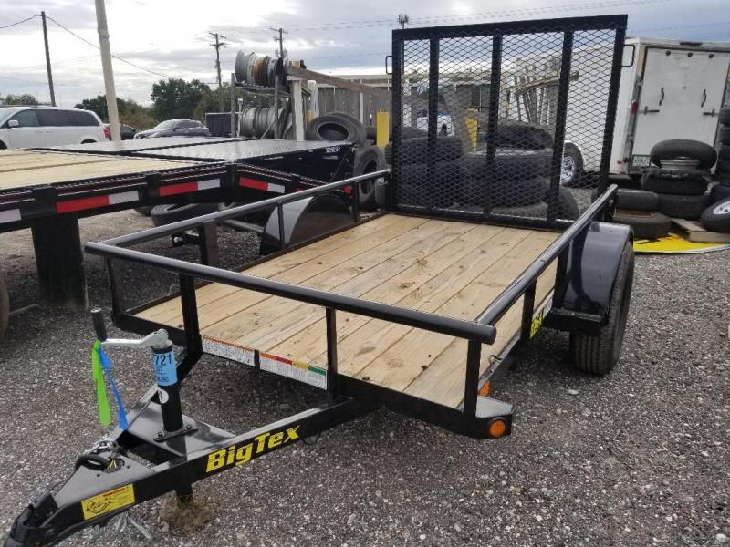 30SA Big Tex Utility Trailer Only One