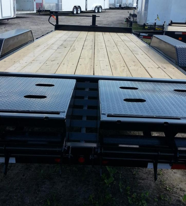 Big Tex Trailers 10ET-18 Small Equipment Trailer 5.2k axles