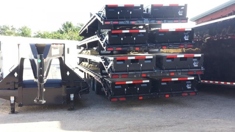 Diamond C Trailers FMAX210 Equipment Trailer Gooseneck 30'