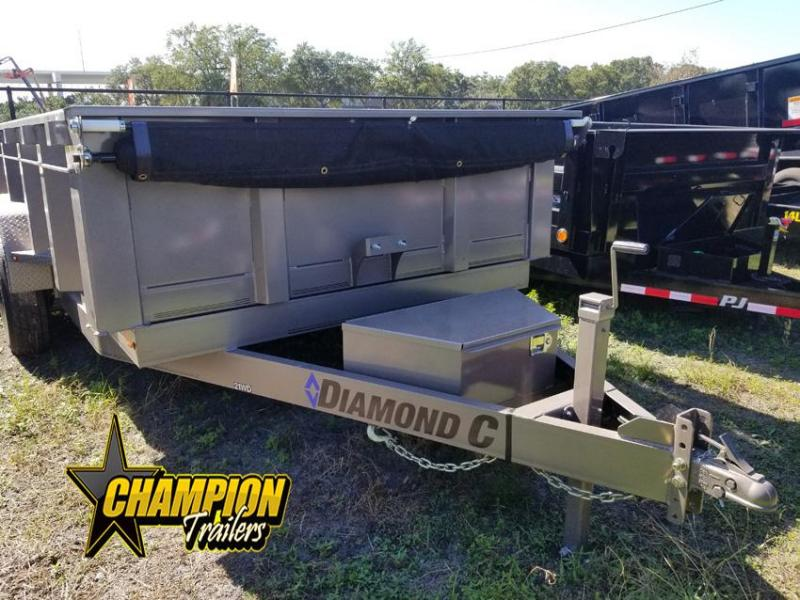 2019 Diamond C Trailers 21WD Dump Trailer