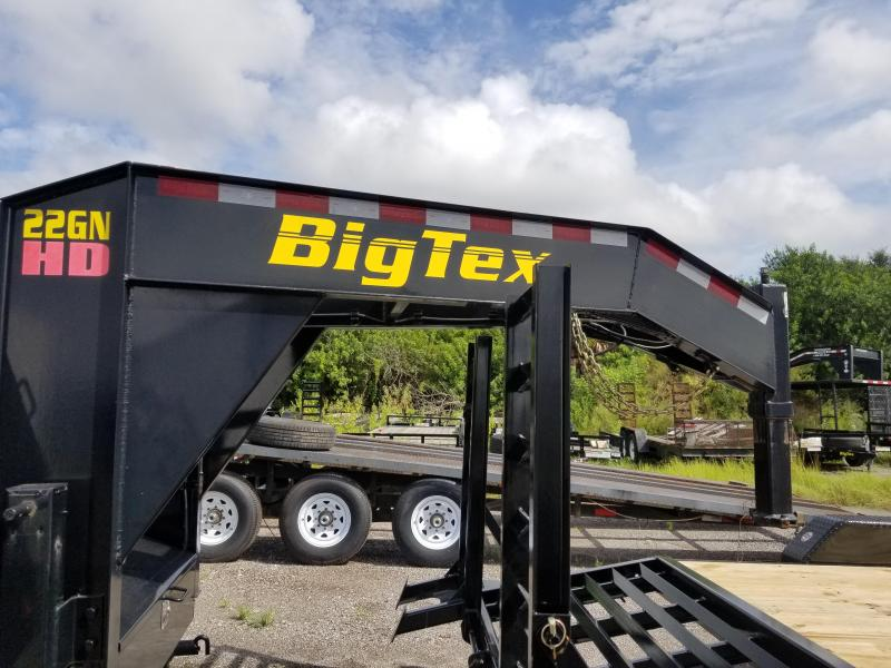 2015 Big Tex Trailers 22gn 20+5 Equipment Trailer