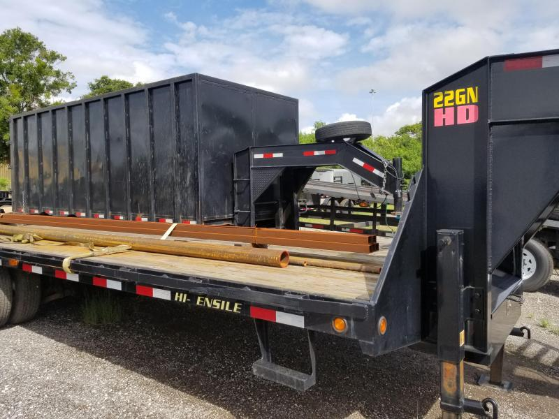 2015 Big Tex Trailers 22gn 20+5 Equipment Trailer