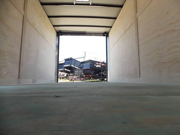 7x12x6 Arising Enclosed Trailer