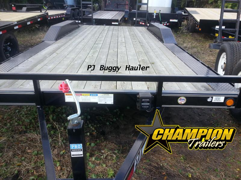 2018 PJ Trailers 5 in. Channel Buggy Hauler (B5) Car / Racing Trailer