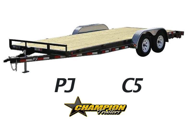 "PJ 83"" x 18' Car / Racing Trailer"