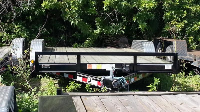"PJ 83"" x 18' Car / Racing Trailer"