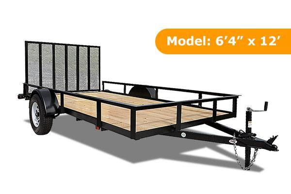Triple Crown Trailers 6x10 Utility Trailer