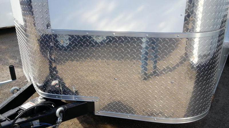 Arising 5'x8' Enclosed Trailer Motorcycle