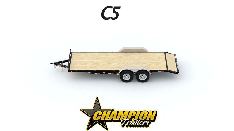 "83"" x 18'   5"" Channel Carhauler"