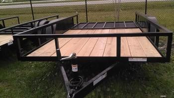 Triple Crown 6'4 x 12 Open Utility Trailer