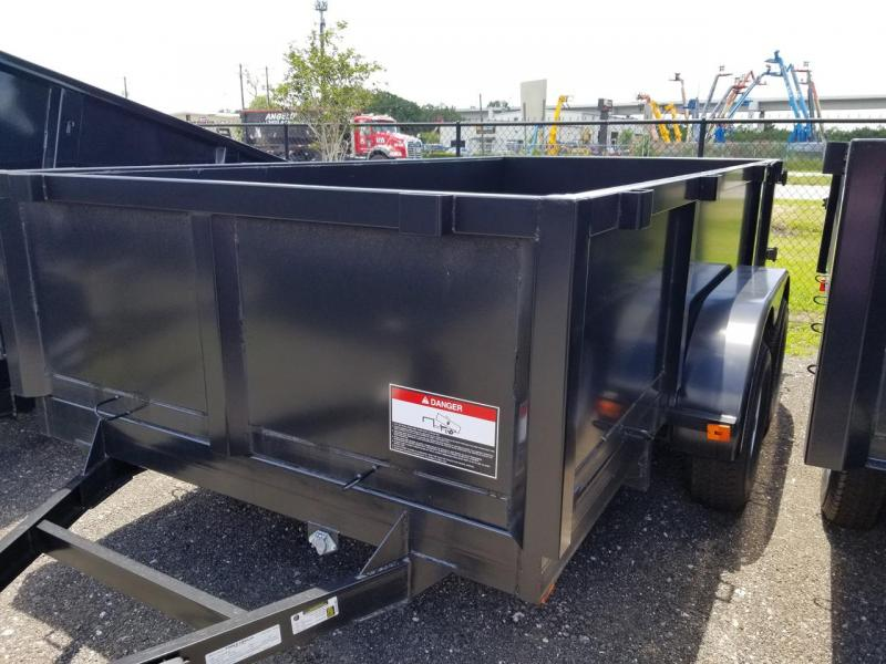 2019 Triple Crown Trailers 6x12 Dump Trailer