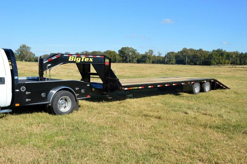 USED Big Tex Trailers 22GN-355 Equipment Trailer