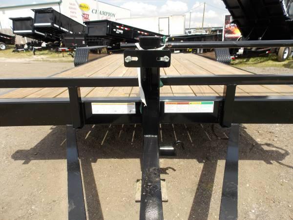 Big Tex 14ET -18Ft TA Equipment 7k Axles