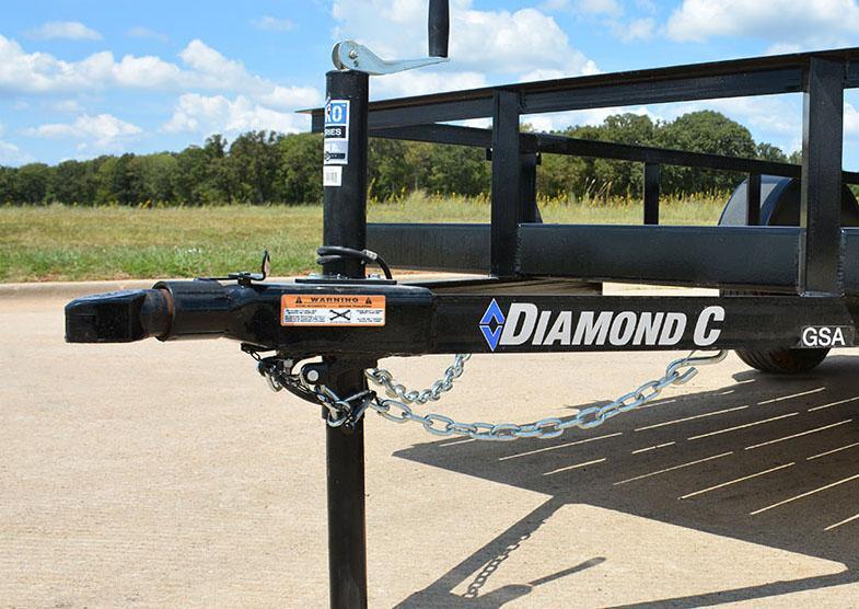 "2019 Diamond C Trailers GSA 135L08x60""Utility Trailer ATV"
