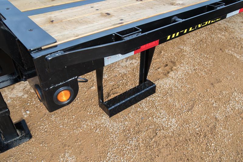 Big Tex 22GN 25'+5' SUR Gooseneck Tandem Dual Equipment Hauler Trailer 25' Gooseneck Trailer