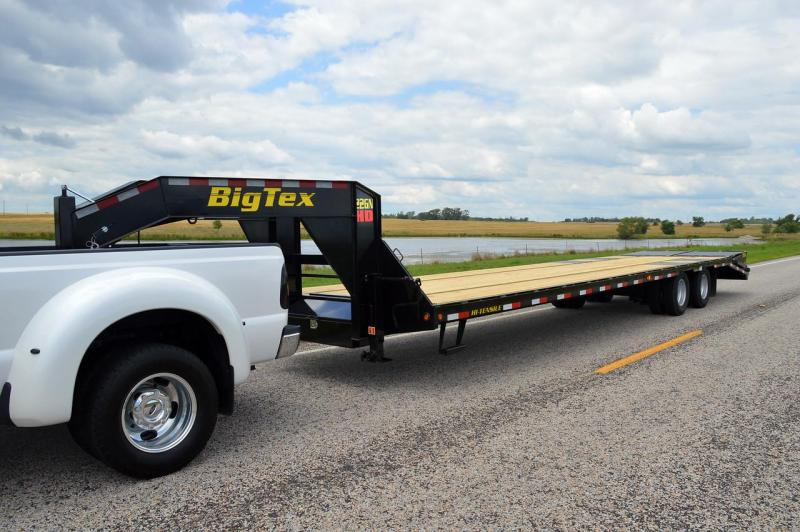 Big Tex Trailers 22GN-205 Gooseneck Tandem Dual Equipment Hauler Trailer 20' Gooseneck Trailer