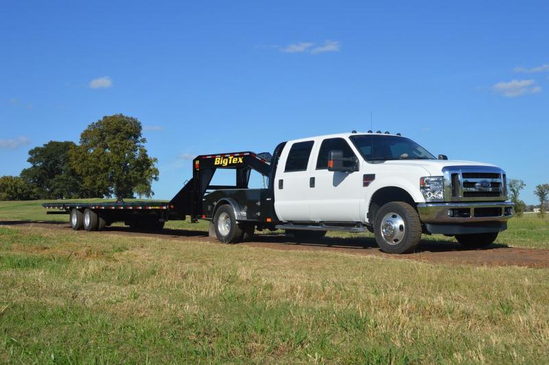 Big Tex Trailers 22GN-205 Gooseneck Tandem Dual Equipment Hauler Trailer 20' Gooseneck Trailer