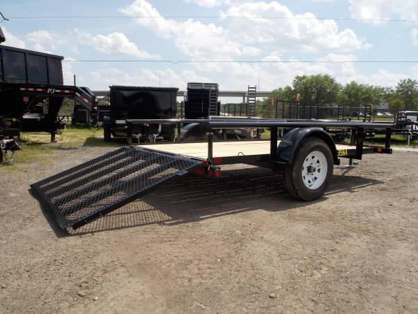 35SA Single Axle Utility 10ft