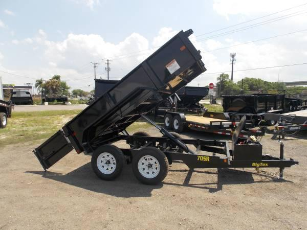 70SR 10x5w  Tandem Axle Single Ram Dump