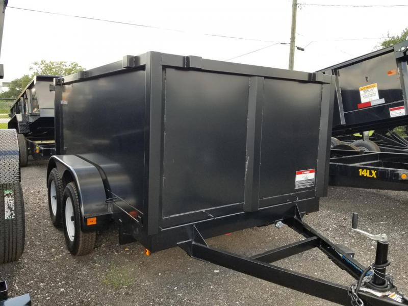 2019 Triple Crown Trailers 6x10 4' Sides Dump Trailer