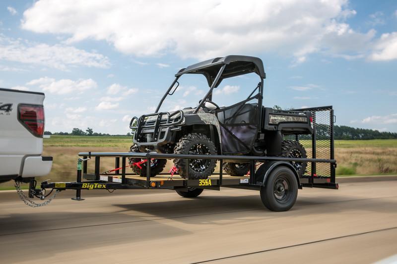 Big Tex Trailers 30SA-10 Utility Trailer Mesh