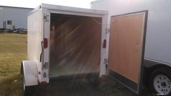 4x6x4 Arising Enclosed  One Avail.