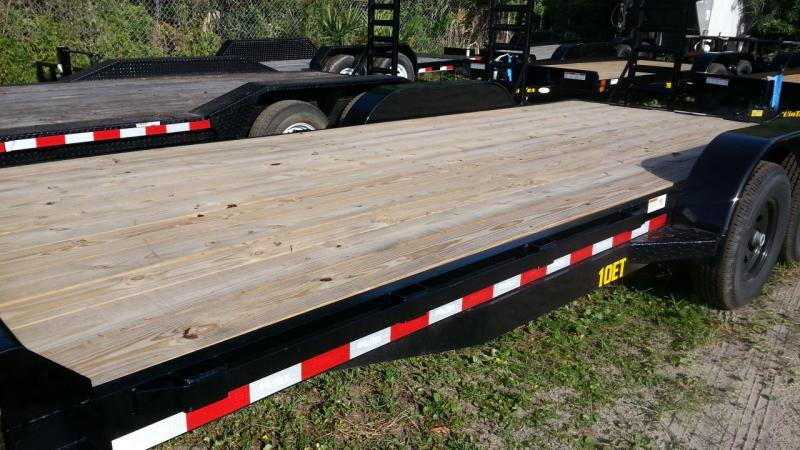 Big Tex Trailers 10ET-18 Small Equipment Trailer 5.2k axles
