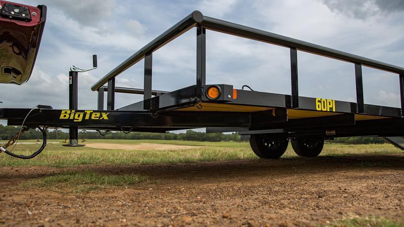 "Big Tex 77"" x 14' w/ 4' ramp gate Utility Landscape Trailer"