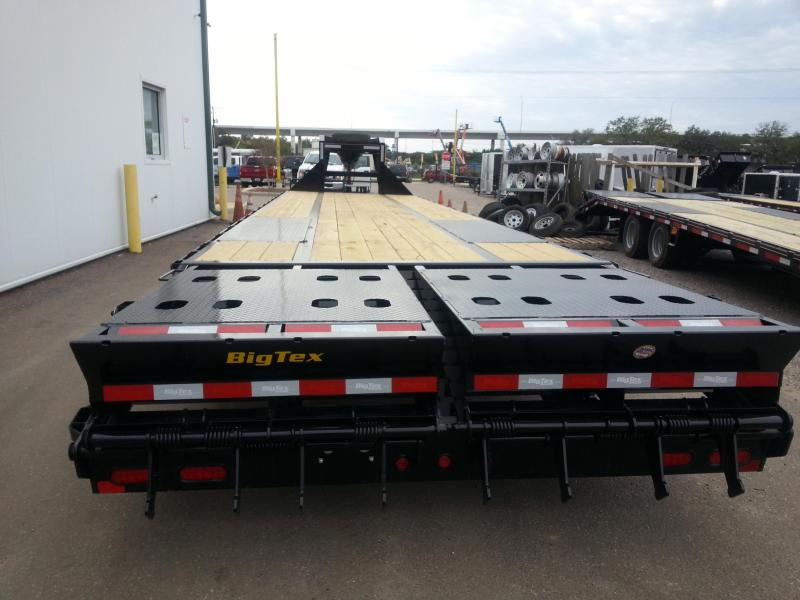 Big Tex 2019  Gooseneck Tandem Dual Equipment Hauler Trailer 30' Gooseneck Trailer
