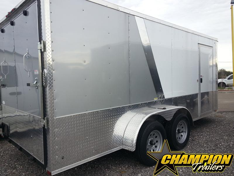 2019 Arising 7x16 Enclosed Cargo Trailer