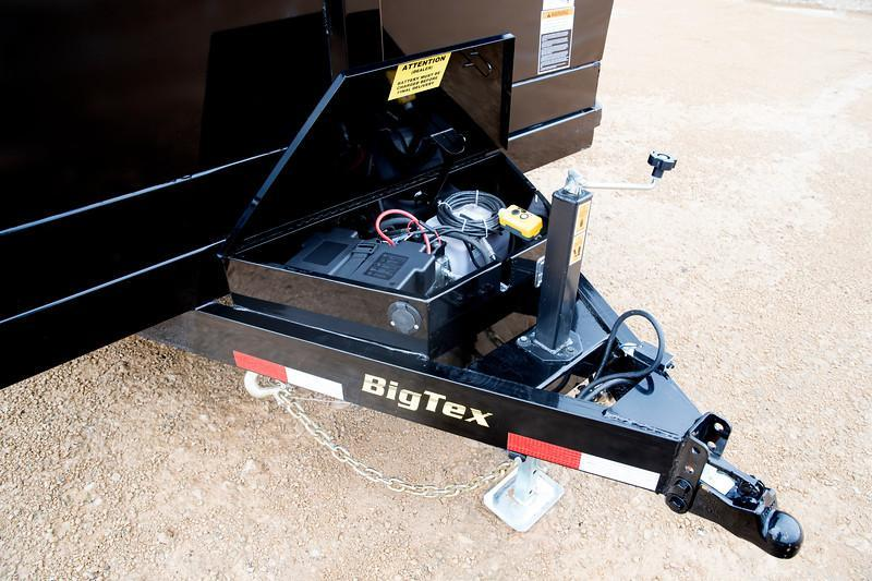 Big Tex Trailers 14LX-14BK-HJ Dump Trailer