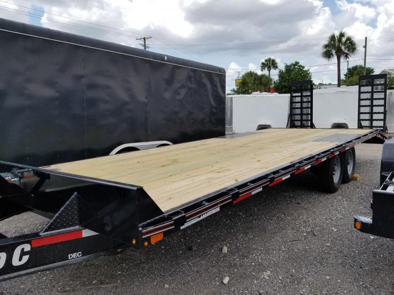 Diamond C Trailers Deckover Equipment Trailer Dovetail Heavy duty Ramps 26'x102