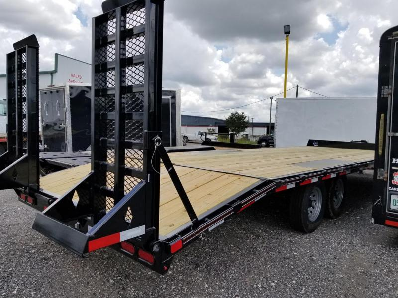 Diamond C Trailers Deckover Equipment Trailer Dovetail Heavy duty Ramps 26'x102