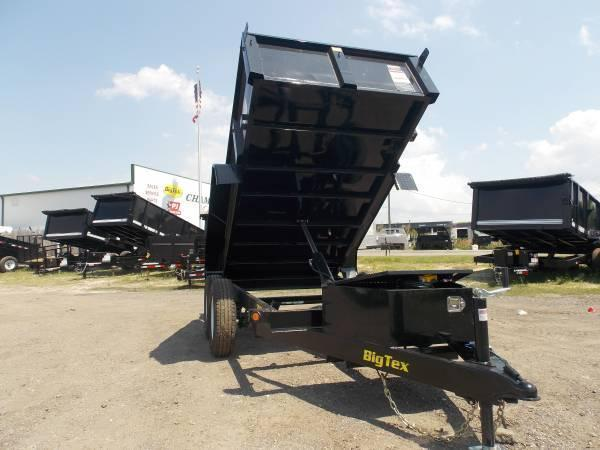 70SR 5 x 10 Tandem Axle Single Ram Dump