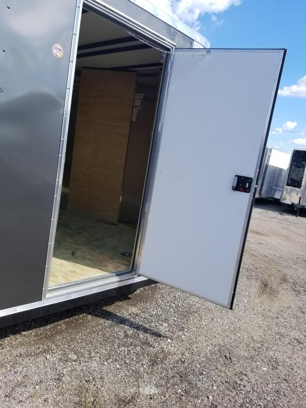 6X12 SA Arising Enclosed Trailer